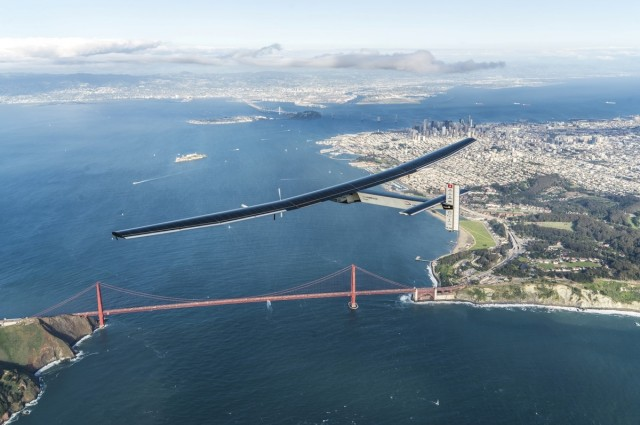 What It's Like To Fly Around The World On Nothing But Solar Power